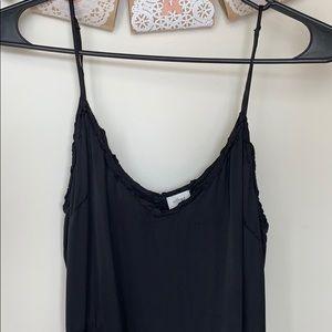 Aritzia midi Japanese silk dress
